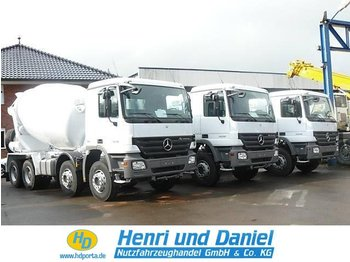 MERCEDES-BENZ 3236 8x4 Tempomat - concrete mixer