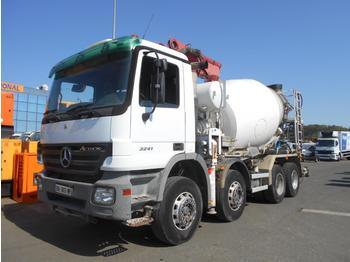 Concrete mixer Mercedes Actros 3241