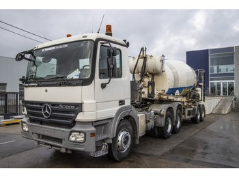 Concrete mixer Mercedes-Benz ACTROS 2641 LS - MP2 + STETTER 12M3