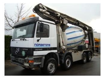 Mercedes-Benz L&T 9CBM MIXER - concrete mixer