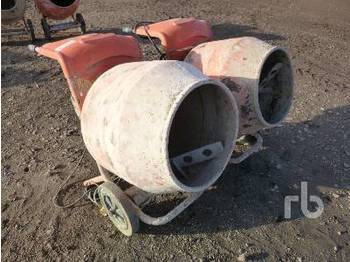 Concrete mixer Quantity of 2