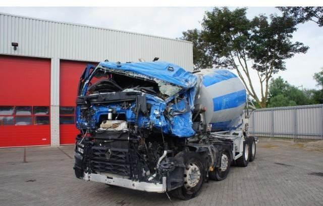 Concrete mixer Renault C460 Automatic Euro-6 8x4 Full Steel suspension 20 -  Truck1 ID: 3035837