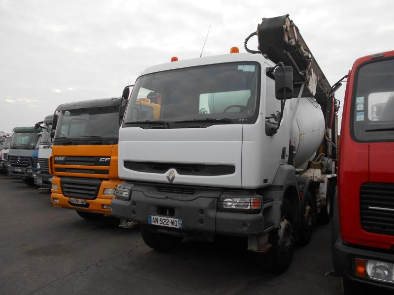 concrete mixer Renault Kerax 420