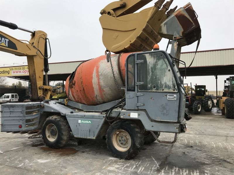 TEREX MARINER 35G concrete mixer from Spain for sale at