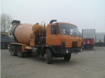 Tatra T815 blastmixer 6x6 - concrete mixer