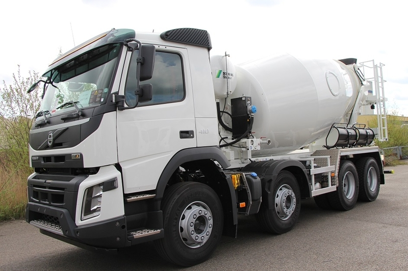 Volvo FMX 420 concrete mixer from Norway for sale at Truck1, ID: 1426073