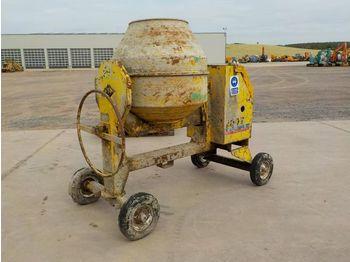 Winget 200T Diesel Cement Mixer c/w Lister Engine - concrete mixer