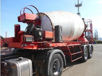 Concrete mixer semi-trailer Dorgler malaxeur beton