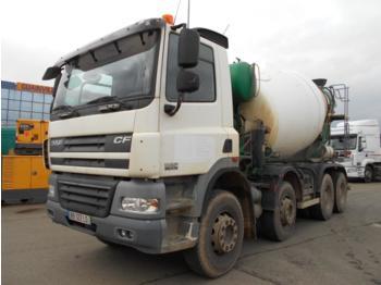 Concrete mixer truck DAF 85CF 410