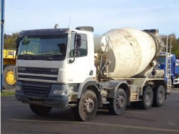 Concrete mixer truck DAF CF 85-360 8x4 / Liebherr 9m³