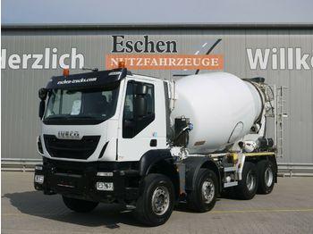 Concrete mixer truck Iveco AD 340 TB 410*8x4*Intermix 9m³*Klima*AP