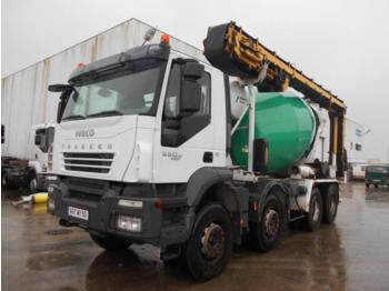 Concrete mixer truck Iveco Trakker 360