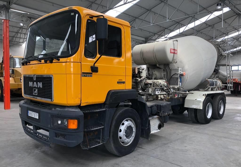 concrete mixer truck MAN 27.293DF