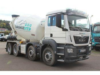 Concrete mixer truck MAN 32.420 / Euromix MTP EM9SL VORFÜHRWAGEN