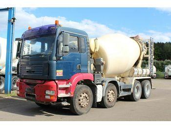 Concrete mixer truck MAN TGA 32390 8X4   9m³