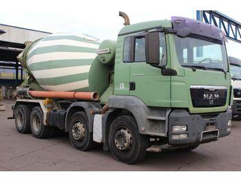 Concrete mixer truck MAN TGS 32.360 8x4 9m Liebherr