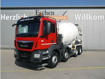 Concrete mixer truck MAN TGS 32.440BB 8x4*9m³ Stetter*Klima*Navi*1.Hand