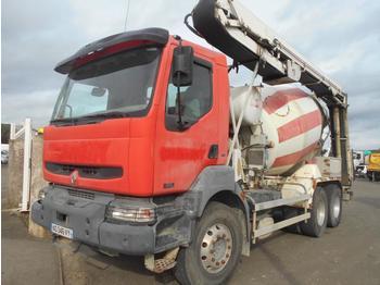 Concrete mixer truck Renault Kerax 370 DCI