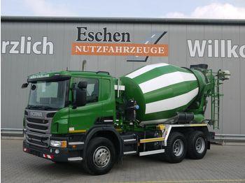 Concrete mixer truck Scania P 360 6x4, 7 m³ Intermix, Manuell, Hardox, Klima