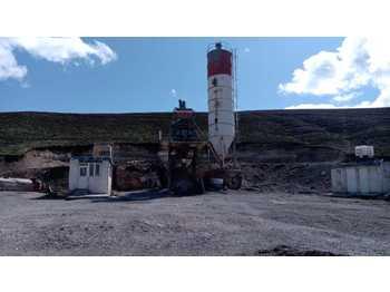 FABO 100m3/h SECOND HAND MOBILE CONCRETE BATCHING PLANT - concrete plant