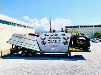 FABO BEST CONCRETE PLANT EVER MADE TURBOMIX-60 READY ON STOCK NOW - concrete plant