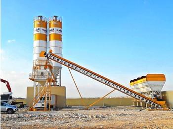 FABO POWERMIX-100 STATIONARY TYPE CONCRETE PLANT 100 M3/H - concrete plant