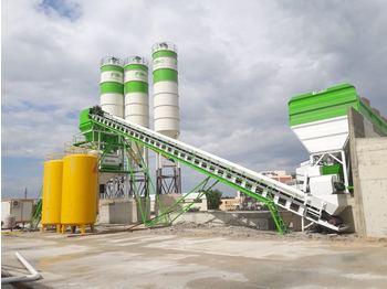 FABO POWERMIX-160 STATIONARY CONCRETE BATCHING PLANT - concrete plant