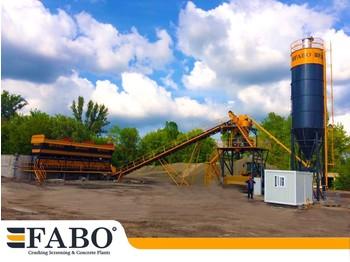 FABO STATIONARY CONCRETE MIXING PLANT | 60m3/h CAPACITY - concrete plant