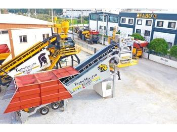 FABO TURBOMIX-110 Mobile Concrete Batching Plant - concrete plant