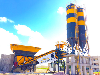 FABO TURBOMİX 120 NEW DESIGN MOBILE CONCRETE BATCHING PLANT IN ALL CAPACITIES - concrete plant