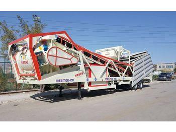 MESAS 100 m3/h MOBILE CONCRETE BATCHING PLANT - concrete plant