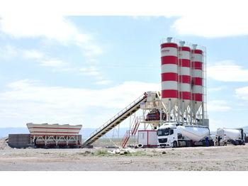 MESAS 120 m3/h FIXED CONCRETE BATCHING PLANT - concrete plant