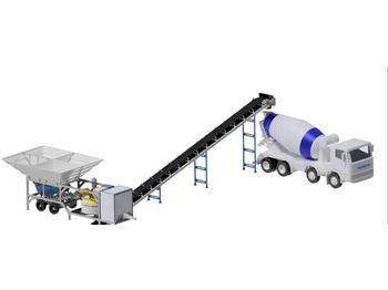 PROMAX MOBILE CONCRETE BATCHING PLANT M30-PLNT  - concrete plant