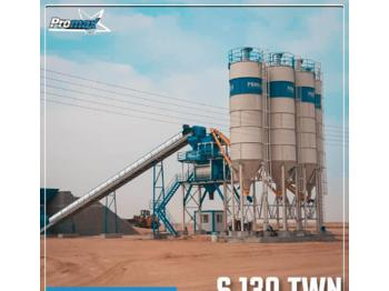 PROMAX TATIONARY CONCRETE BATCHING PLANT S130-TWN  - concrete plant