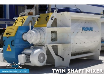 Twin Shaft Mixer  - concrete plant