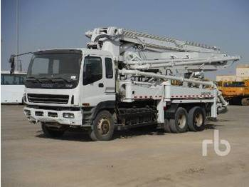 Isuzu CXZ51Q 6X4 W/Zoomlion Zlj5280Thb125-37 - concrete pump