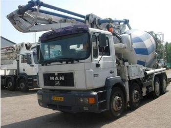 MAN Putzmeister M 28/9m3 - concrete pump