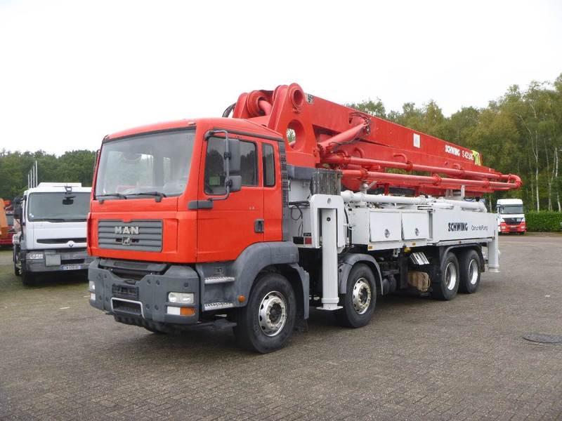 Concrete pump M A N  TGA 41 400 8x4 Schwing S42R pump 42 m - Truck1 ID:  2671389