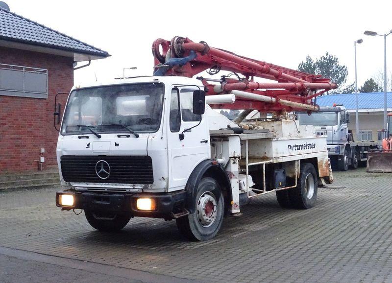 Concrete pump Mercedes-Benz 1622 4x2 / 24m Putzmeister - Truck1 ID: 2743390