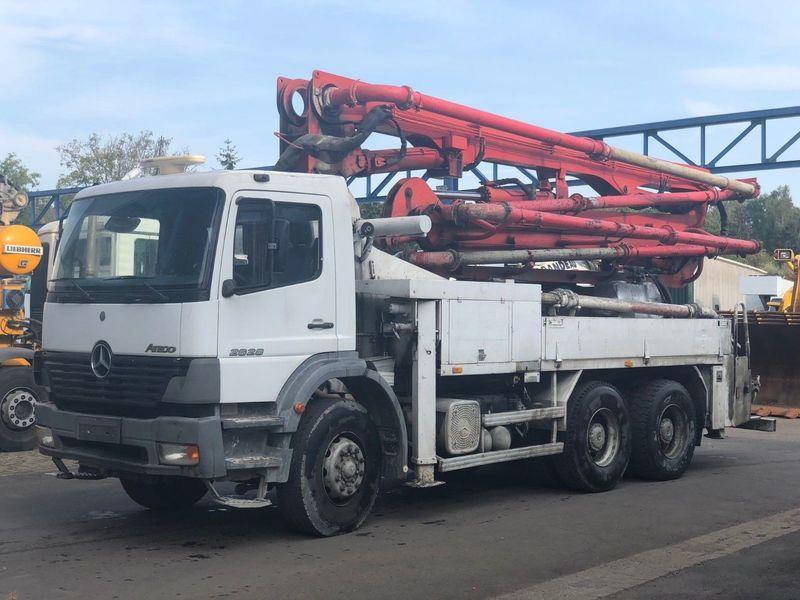 Concrete pump Mercedes-Benz 2628 6x4 / 28m Putzmeister - Truck1 ID: 3124459