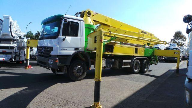 Concrete pump Mercedes-Benz 2636 6x4 Schwing KVM S 39 SX - Truck1 ID:  1233554