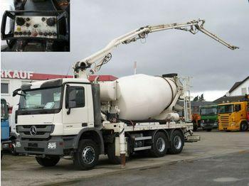 Concrete pump Mercedes-Benz Actros 3236 B 8x4 Betonpumpe Pumi 21m 1844h Deut