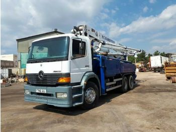 Concrete pump Mercedes-Benz SCHWING KVM 34X , MERCEDES BENZ