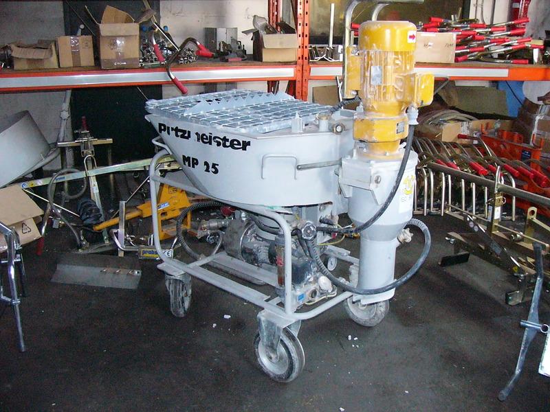 putzmeister mp 25 380v concrete pump from belgium for sale at truck1 id 944062. Black Bedroom Furniture Sets. Home Design Ideas