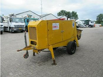 Concrete pump PUTZMEISTER concrete pump BSA 1005 D