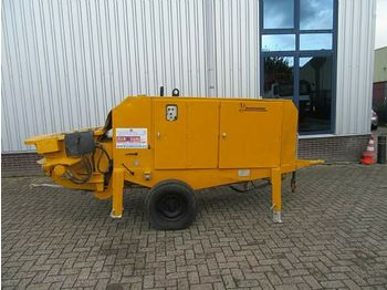 Concrete pump PUTZMEISTER concrete pump BSA 1005 D