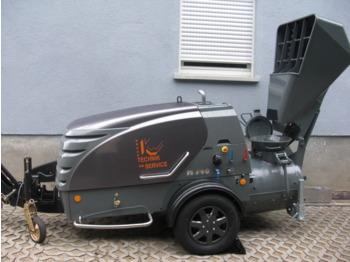Putzmeister 740D - concrete pump