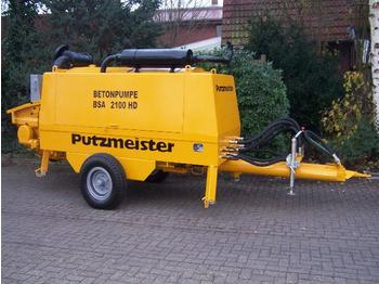 Putzmeister BSA 2100 HD - concrete pump