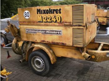 Putzmeister M 201 / 2 - concrete pump