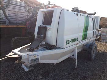 Concrete pump SCHWING SP1800 2016 STATIONARY CONCRETE PUMP